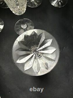 10 Verres À Vin En Cristal St Louis Modèle Tarn