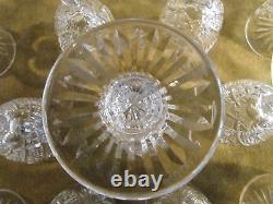 11 verres à liqueur cristal Saint Louis mod Gavarni crystal vodka glasses