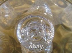 12 Verres à vin blanc 9cl cristal Saint Louis Massenet (crystal wine glasses)