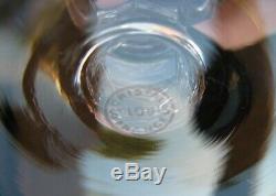 2879 6 Verres à bourgogne en cristal ST SAINT LOUIS GUERNESEY