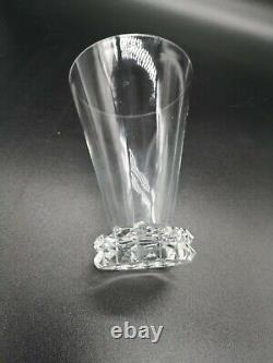 4 Verres En Cristal Saint-Louis Modèle Diamant 12cm