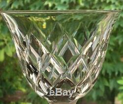 4 Verres a eau cristal taillé Saint Louis modèle Adour