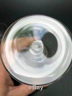 5 VERRES A VIN BLANC CRISTAL DE SAINT LOUIS MODELE LISIEUX H 11 cm baccarat