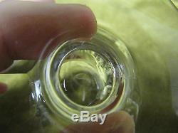 5 coupes à champagne cristal saint Louis mod poincare (crystal champagne cups)