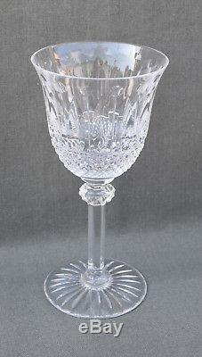 5 verres à vin de Bordeaux n°4 en cristal taillé Saint-Louis modèle Tommy 15 cm