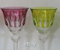 6 Verres A Liqueur En Cristal De St Louis Tommy Couleur
