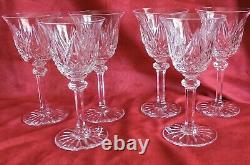 6 Verres A Vin En Cristal De St Louis Modele Sammy Proche Provence 14 CM