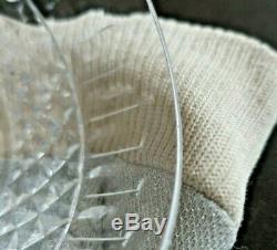 6 coupes / coupelles Tommy cristal Saint Louis. H4,9cm. Estampillée