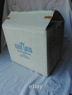 6 flûtes à Champagne cristal SAINT LOUIS DAPHNE Etat neuf dans l'emballage
