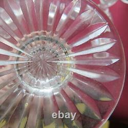 6 flûtes à champagne en cristal de saint louis modele trianon