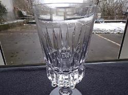 6 verres à eau en cristal de baccarat saint louis lot 1