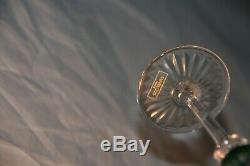 6 verres à liqueur en cristal modèle Tommy estampillés Saint Louis France