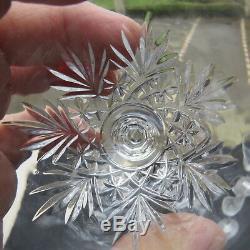 6 verres a vin N 4 en cristal de saint louis modèle Massenet H 13 cm