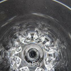 6 verres à vin en cristal de saint louis modèle jersey pour le France H 11,4 L2