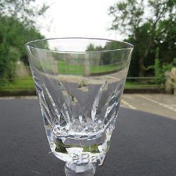 6 verres à vin en cristal de saint louis modèle jersey pour le paquebot France