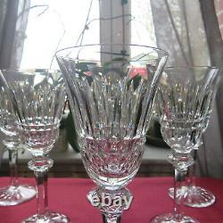 6 verres à vin rouge en cristal saint louis baccarat lorraine ou autre