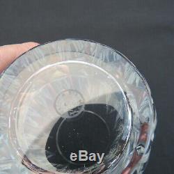 6 verres chopes a orangeade en cristal de saint louis modèle Guernesey signé 2