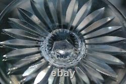 6 verres de couleur en cristal de saint louis modèle TOMMY H 19.8 cm signés