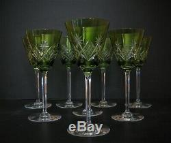 8 Verres à vin blanc roemer cristal saint louis, val saint lambert, baccarat