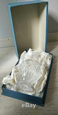 Aiguière / carafe à liqueur en Cristal de Saint- Louis. Modèle Messine