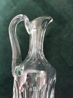 Aiguière cristal Saint Louis. Modèle Chambord