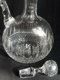 Ancien broc a decanter cristal St LOUIS TOMMY carafe no Baccarat Daum Lalique
