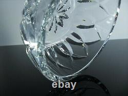 Ancienne Coupe Saladier Cristal Massif Taille Diamant Camargue St Louis Signée