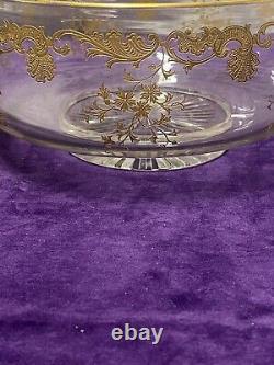 Ancienne Et Belle Coupe Centre De Table Cristal Saint Louis Modèle Massenet