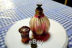 Ancienne Et Rare Lampe Berger Cristal St Louis
