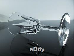 Anciennes 6 Verres A Vin Cristal Taille St. Louis Baccarat Cerdagne Signe