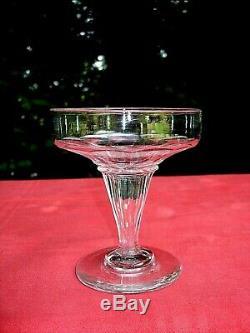 Baccarat Champenoise Coupes A Champagne Cristal Saint Louis Caton Cotes Plates