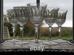 Belle Serie De 6 Verres En Cristal De Saint Louis Modele Tommy H 14 CM