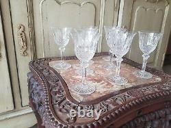 Belle Serie De 8 Verres En Cristal De Saint Louis Modele Tommy
