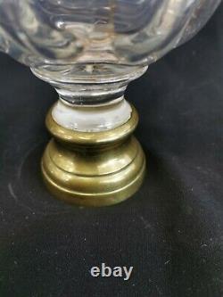 Boule d'escalier Baccarat St Louis bronze + platine