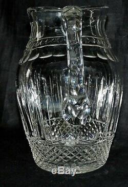 Broc A Eau En Cristal De St Louis Blanc Tommy