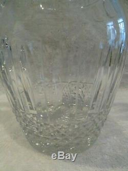 Broc à eau cristal Saint Louis Tommy crystal water pitcher