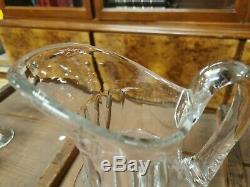 Broc à eau en cristal de Saint Louis modèle cerdagne