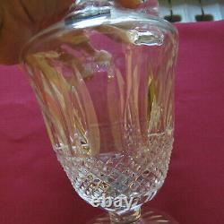 Carafe aiguière en cristal de Saint Louis modèle Tommy signé