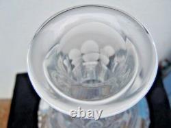 Carafe cristal taille pointes de diamant dlg de St Louis