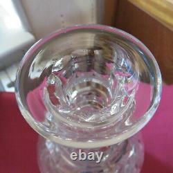 Carafe en cristal de saint louis modèle trianon