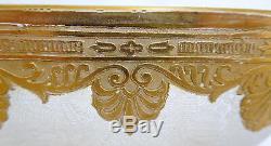 Coupe à brosse en CRISTAL DE ST LOUIS, modèle NELLY Empire doré