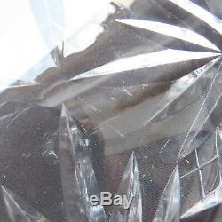 Coupe saladier en cristal de saint louis modèle massenet ou chantilly