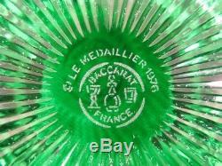 Cristal De Baccarat Effigie De Saint Louis Sulfure Boule Presse-papier An 1976