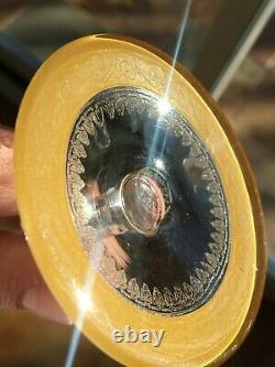 Flute a champagne en cristal Saint Louis modèle Thistle