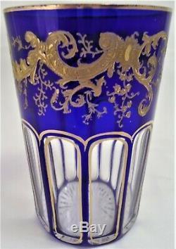 Gobelet verre à thé CRISTAL DE ST LOUIS Rabat réf A26/30