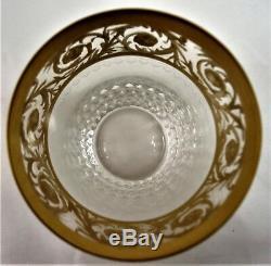 Gobelet verre à thé CRISTAL DE ST LOUIS thistle réf A