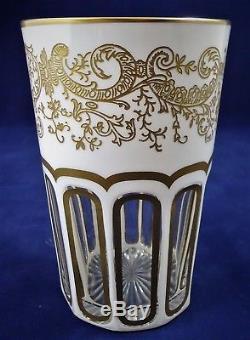 Goblelet verre à thé CRISTAL DE ST LOUIS Rabat réf A23/7