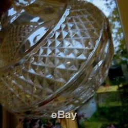 Grande carafe a décanté en cristal de saint louis modèle trianon signé