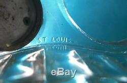 HUILIER VINAIGRIER EN CRISTAL SIGNE SAINT-LOUIS FIN XIX iéme 1,503 kg