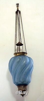 Lanterne cristal 1900 saint louis